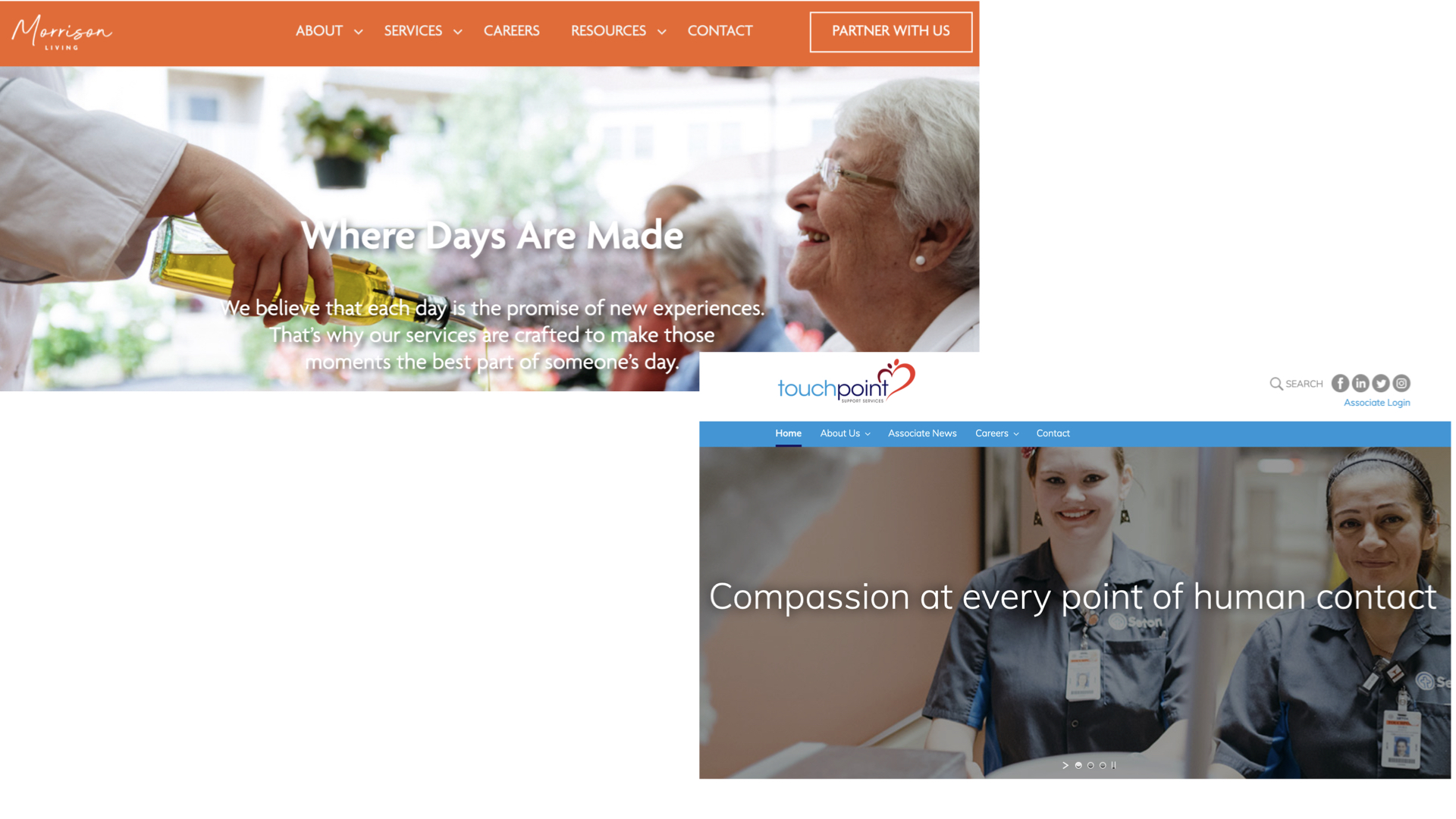 Compass Group websites